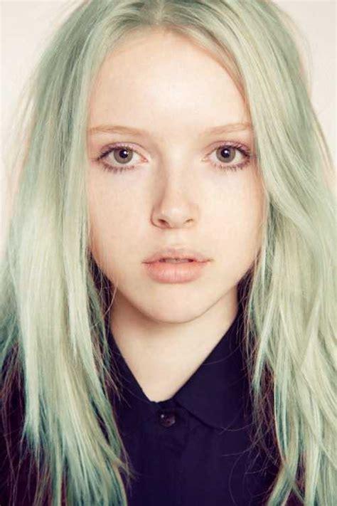 Mint Pastel Green Hair Colors Ideas