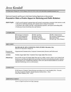 entry level marketing resume objective top pick for With entry level resume objective