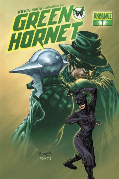cover art  kevin smiths green hornet comic book