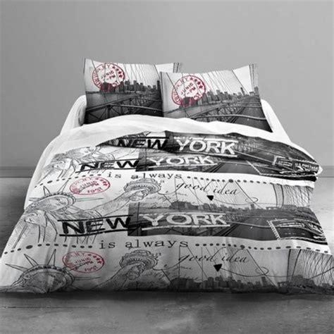 chambre ado swag housse de couette ado adolescent linge de lit housse