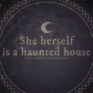 17 Best images ... Haunted Places Quotes