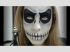 Maquiagem de Halloween Inspirada no Jack Skellington por