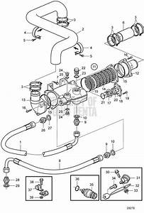 Volvo Penta Exploded View    Schematic Oil Cooler For