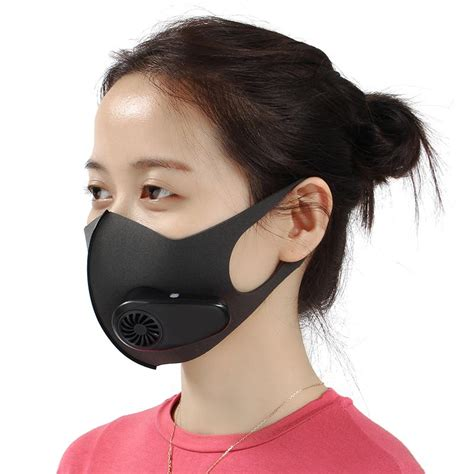 smart electric face mask air purifying  anti dust