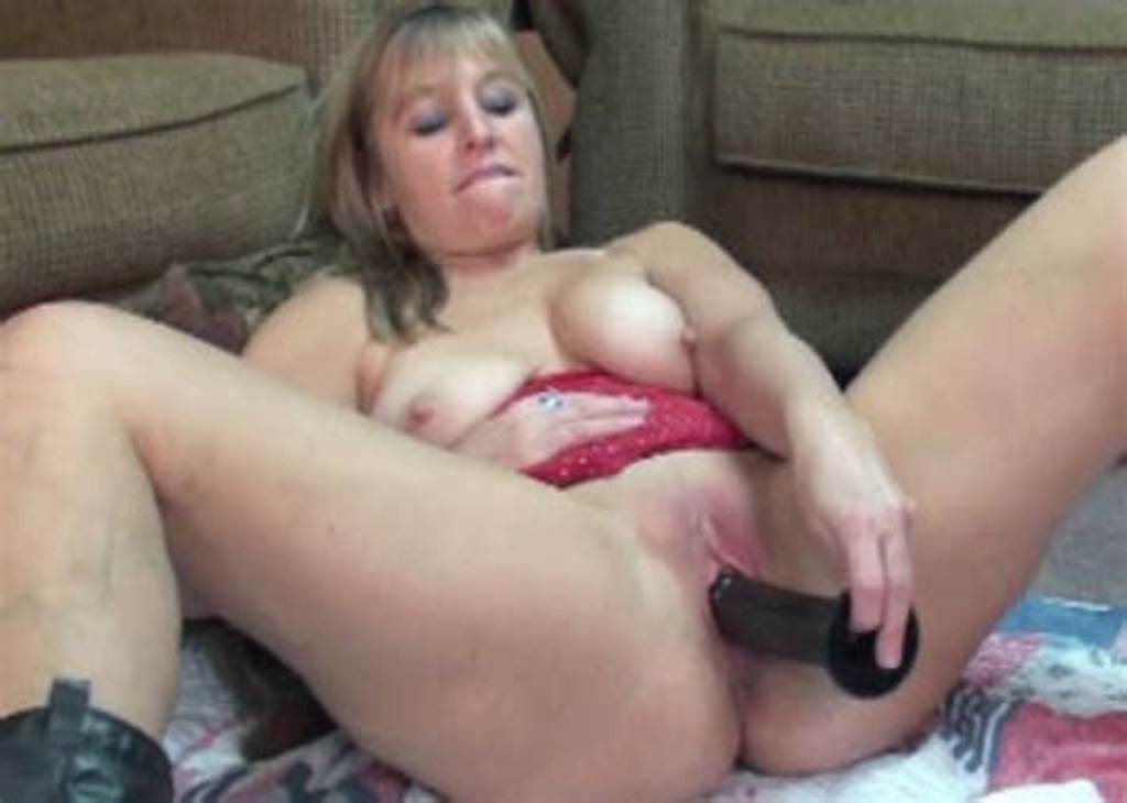 #Mature #Fucked #With #Dildo