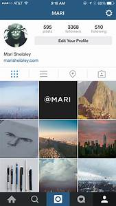 Instagram Screenshots :: Mobile Patterns