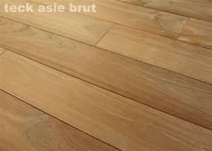 parquet massif teck asie 16 x 70 mm brut promo With parquet massif promo