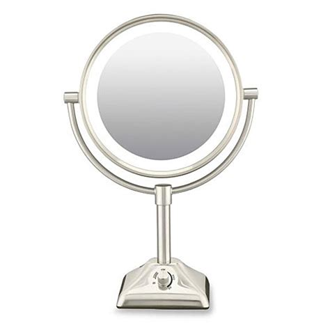 conair lighted mirror conair be104x 10x 1x variable lighted makeup mirror