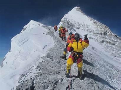 Everest Background Wallpapers Desktop Mount Summit Nuwallpaperhd