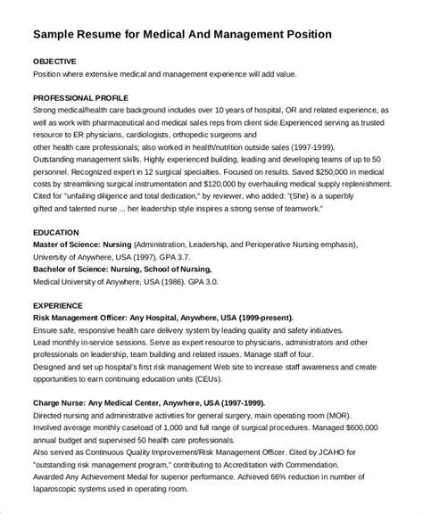 nurse resume templates    premium