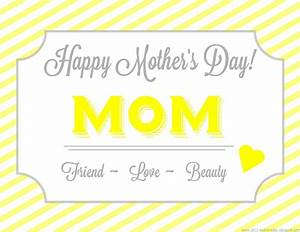 Virtual Cards With Messages For Mom   Cool Images