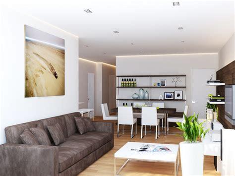 brown white living room interior design ideas
