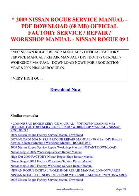 how to download repair manuals 2011 nissan rogue regenerative braking 2009 nissan rogue service manual 68 mb official factory service repair workshop manual nissan by