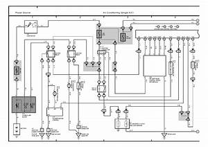 Wiringdiagrams  2001 Toyota Land Cruiser Single Ac Wiring Diagram