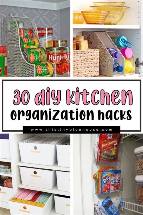 27+ Stupendous Kitchen Organization Hacks 2020