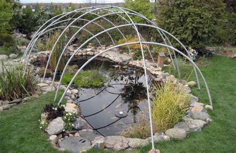 pond covers for winter winter pond covers hydrosphere water gardens 4308