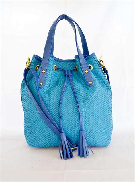 koleksi tas selempang wanita model serut motif ular