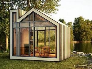 Chalet De Jardin Contemporain : exit le classique place aux abris de jardin atypiques ~ Premium-room.com Idées de Décoration