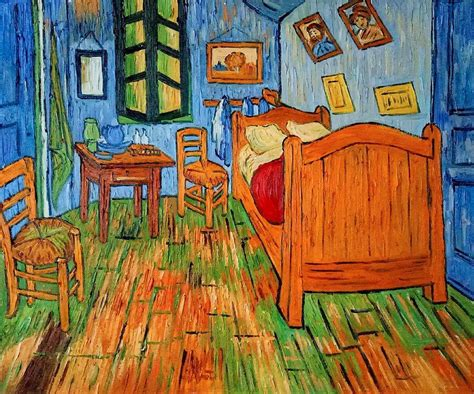 bedroom  arles vincent van gogh reproduction