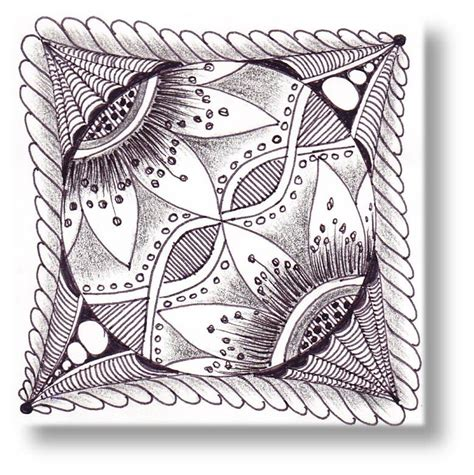 zentangle tile template journey through zentangle zentangle tiles
