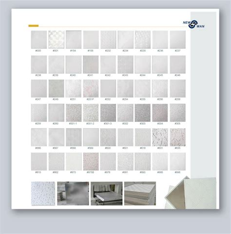 2x4 Sheetrock Ceiling Tiles by White Color Pvc Coated Gypsum Ceiling Tiles For Sale Buy