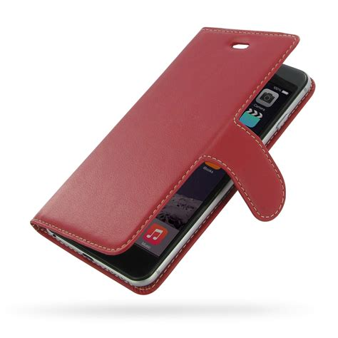 genuine leather cover for iphone 6 iphone 6 6s plus leather smart flip cover pdair