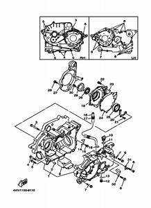Crankcase For 1999 Yamaha Grizzly 600 Grizzly 600  N