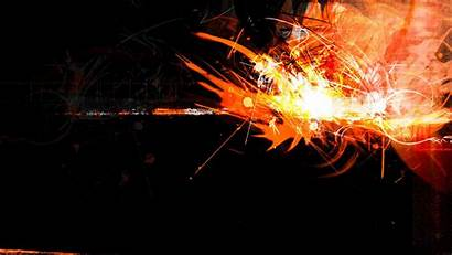 Neon Orange Background Backgrounds Abstract Desktop