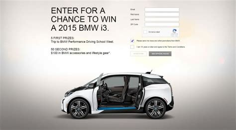 bmw ads 2015 enter bmw s i secret sweepstakes win electric i3 from