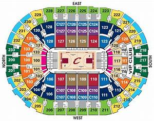 cavs seat chart seating charts quicken loans arena With cavs floor seats