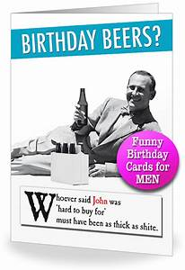Funny Birthday Cards for Men