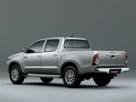 Toyota Hilux Double Cab Specs & Photos  2011, 2012, 2013