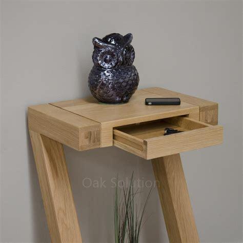 designer console tables contemporary z solid oak designer furniture small console hallway