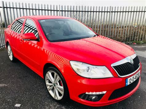 Used Skoda Octavia Vrs 2012 Diesel 2.0 Red For Sale In Mayo