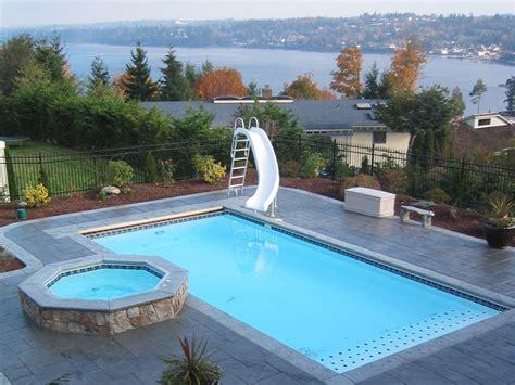Lake Shore Large Fiberglass Inground Viking Swimming Pool