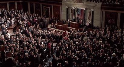Applause Congress Standing Trump Ovation Stand Democrats