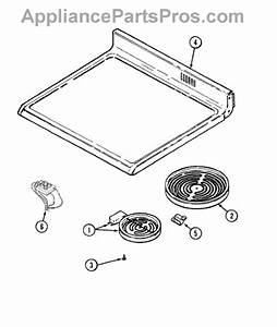 Parts For Maytag Mer5730aaw  Top Assembly Parts