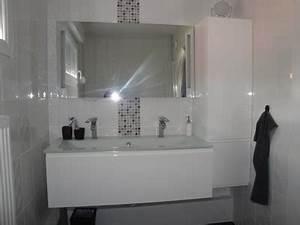 decoration salle de bain blanche With salle de bain toute blanche