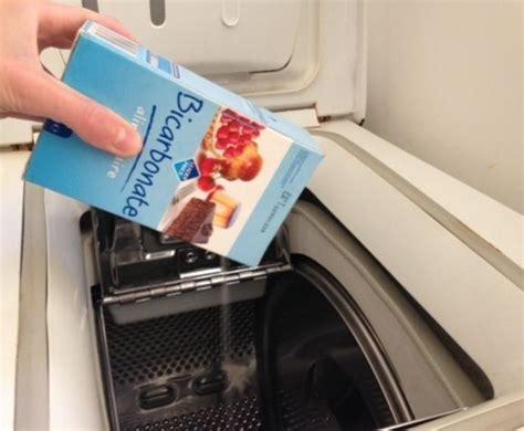 bicarbonate de soude lave linge comment nettoyer une machine 224 laver en 7 201