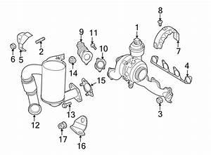 Volkswagen Jetta Wagon Exhaust Bolt  Liter  Diesel  Sedanwagon