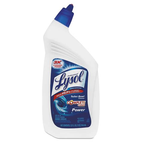Lysol Power Free Bathroom Cleaner Msds by Disinfectant Toilet Bowl Cleaner By Professional Lysol