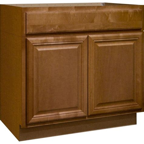 hton bay cabinets reviews hton bay 36x34 5x24 in shaker sink base cabinet in
