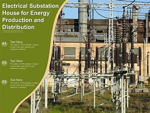 Electrical Substation House For Energy Production And