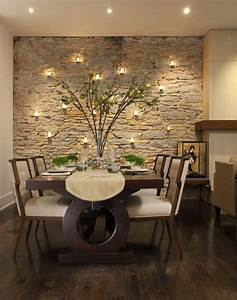 Accent wall ideas for dining room dining room contemporary ...
