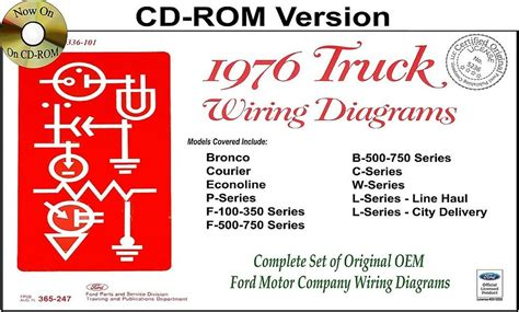 1976 ford truck wiring diagrams rom bronco courier