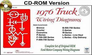 1976 Ford Truck Wiring Diagrams  Cd