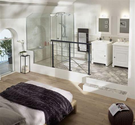 salle de bain dans chambre parentale suite parentale avec salle de bain nos idées aménagement salles de bains cottage bain