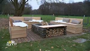 Holztrennwände Für Den Garten : eine feuerstelle f r den garten zdfmediathek ~ Sanjose-hotels-ca.com Haus und Dekorationen