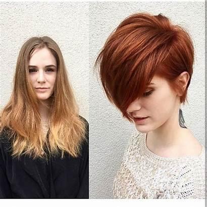 Short Hair Before Haircuts Hairstyles Hairstyle Bangs
