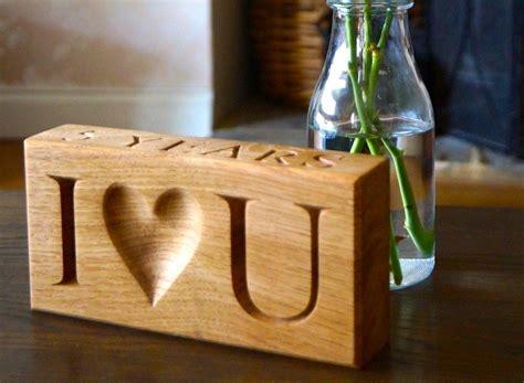 wedding anniversary wooden gift ideas
